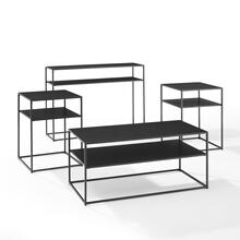 See Details - Braxton 4pc Coffee Table Set