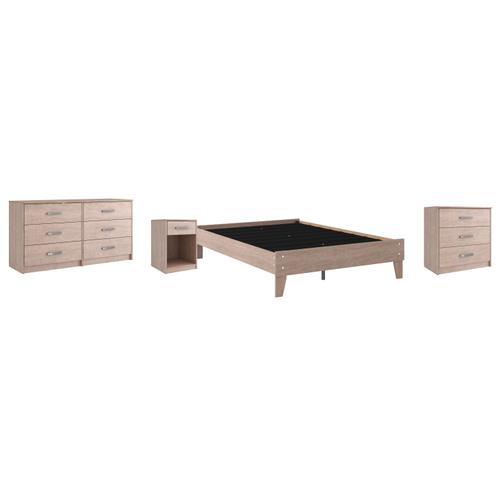 Gallery - Full Platform Bed With Dresser, Chest and Nightstand
