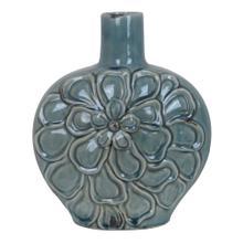 View Product - Large Soft Blue Flower Vase