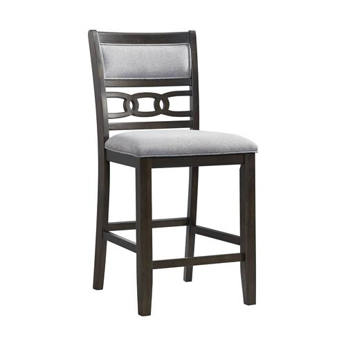 Amherst Counter Height Side Chair Set in Walnut