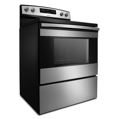 Amana Canada - 30-inch Amana® Electric Range with Bake Assist Temps