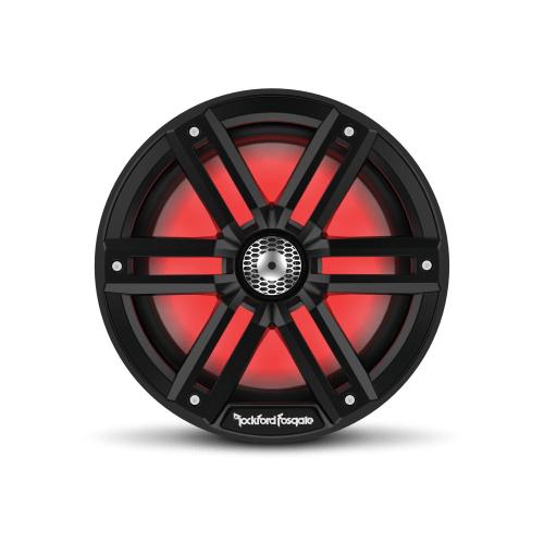 "Rockford Fosgate - M2 8"" Color Optix™ Marine 2-Way Speakers - Black"
