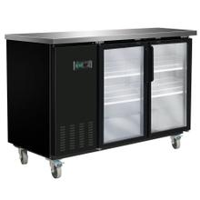 MXBB60G Back Bar Coolers, Glass Door