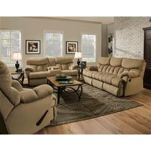See Details - Double Reclining Console Sofa