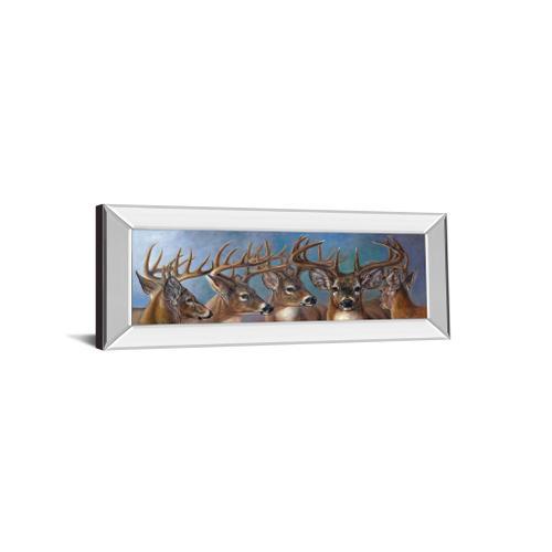 """Five Bucks"" By Carolyn Mock Mirrored Framed Print Wall Art"