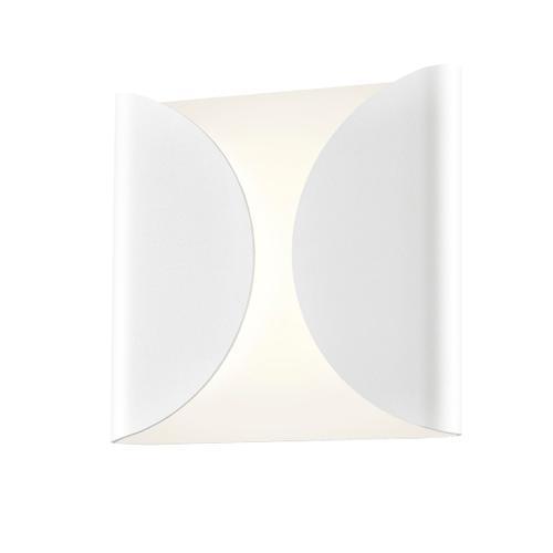 Sonneman - A Way of Light - Folds LED Sconce [Size=Standard, Color/Finish=Textured White]
