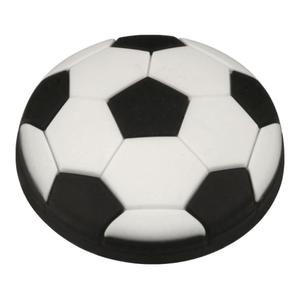Kids Black Soccer Ball Cabinet Knob Product Image
