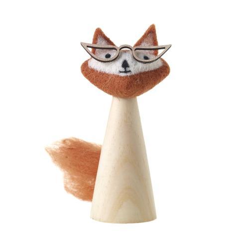 "2""x 6.5"" Orange E+E Felt Head Collection (Eloise Fox Option)"