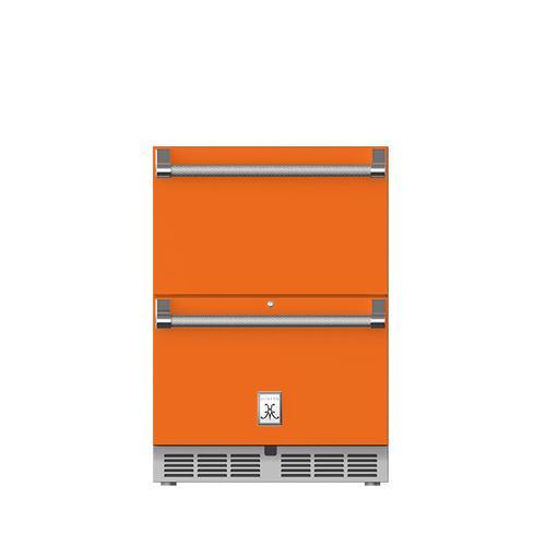 "24"" Hestan Outdoor Refrigerator Drawers - GRR Series - Citra"
