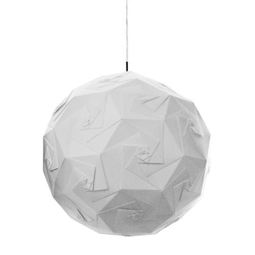 1lt Origami Pendant Jtone White White