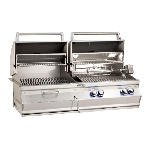 Product Image - Aurora A830i Gas/Charcoal Combo Built-In Grill