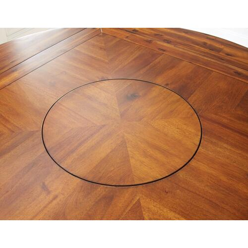 "Abaco Drop Leaf Counter Table T op, 59"" Round (42"" Square)"