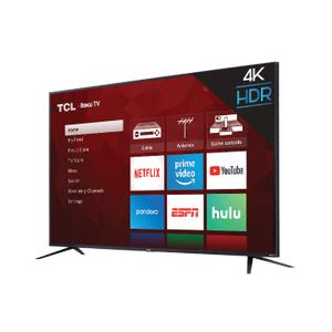 "TCL - TCL 75"" Class 4-Series 4K UHD HDR Roku Smart TV - 75S425"