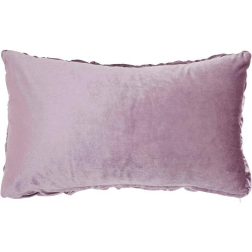"Life Styles L0064 Lavender 14"" X 24"" Throw Pillow"