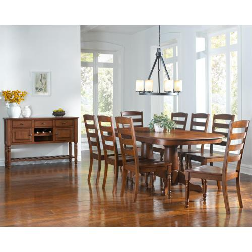 Butterfly Ext. Trestle Table