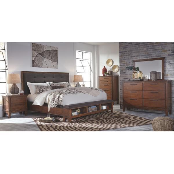 Ralene California King Upholstered Panel Bed