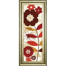 """Floral Pop Panel I"" By Mo Mullan Framed Print Wall Art"