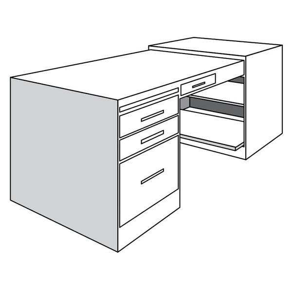 See Details - Desk Return, Left