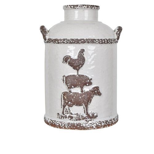 Crestview Collections - Small Farm House Churn Jar