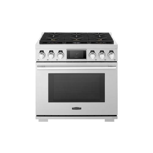 Signature Kitchen Suite - 36-inch Gas Pro Range with 6 Burners