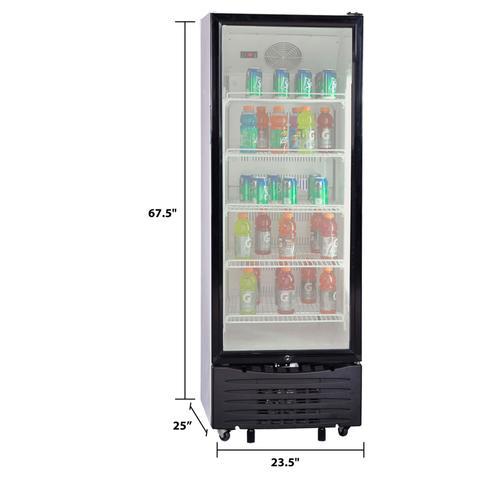 Avanti - 11.2 cu. ft. Commercial Beverage Center