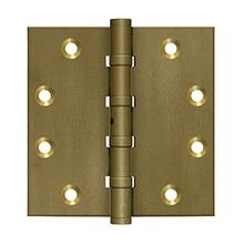 """View Product - 4-1/2"""" x 4-1/2"""" Square Hinges, Ball Bearings"""