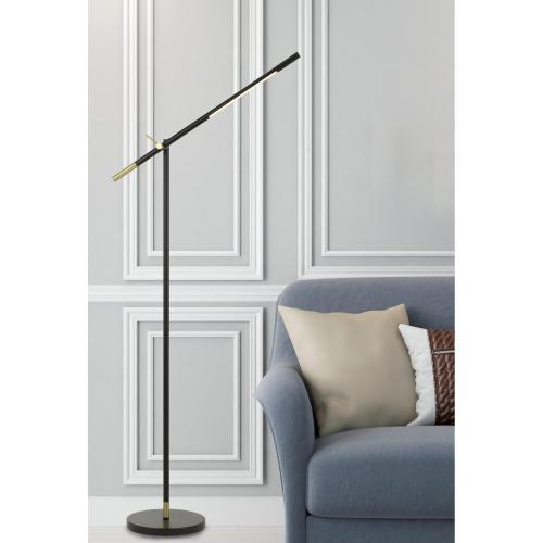 Virton Metal LED 10W, 780 Lumen, 3K Adjustable Floor Lamp