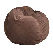 King Chair - Plush Fur - Brown