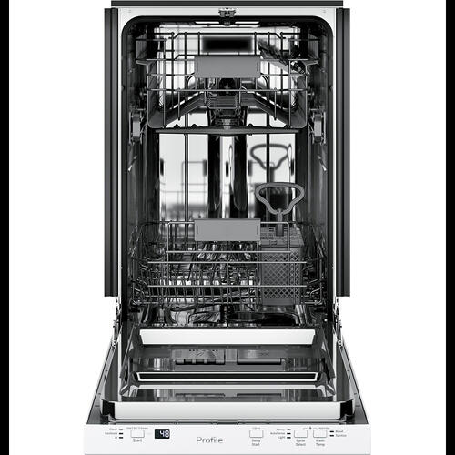 "GE Profile™ 18"" Built-In Dishwasher White - PDT145SGLWW"