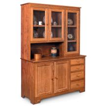 """View Product - Shaker Hoosier Hutch, 61 """", Right Top/Right 19"""" Base"""