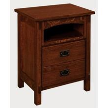 Savannah 2 Drawer Nightstand