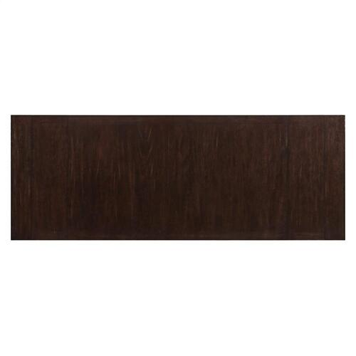 Rosemoor - Trestle Dining Table Top - Burnt Caramel Finish
