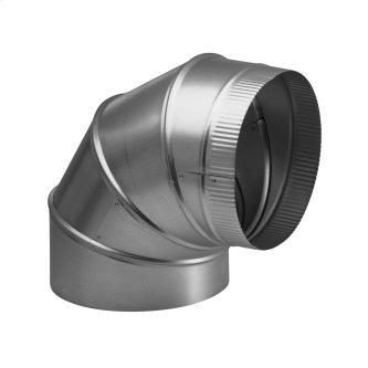 8-Inch Round Elbow Duct for Range Hoods and Bath Ventilation Fans