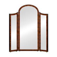 See Details - Art Deco style full length triple dressing mirror (High lustre)