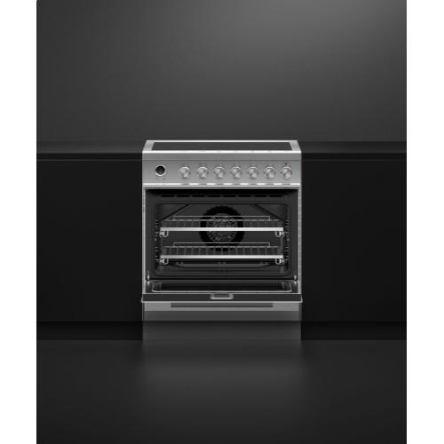"Fisher & Paykel - Electric Range 30"" - Ceramic Radiant"