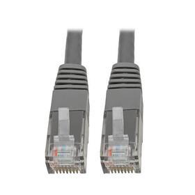 Cat6 Gigabit Molded (UTP) Ethernet Cable (RJ45 M/M), Gray, 20 ft. (6.09 m)