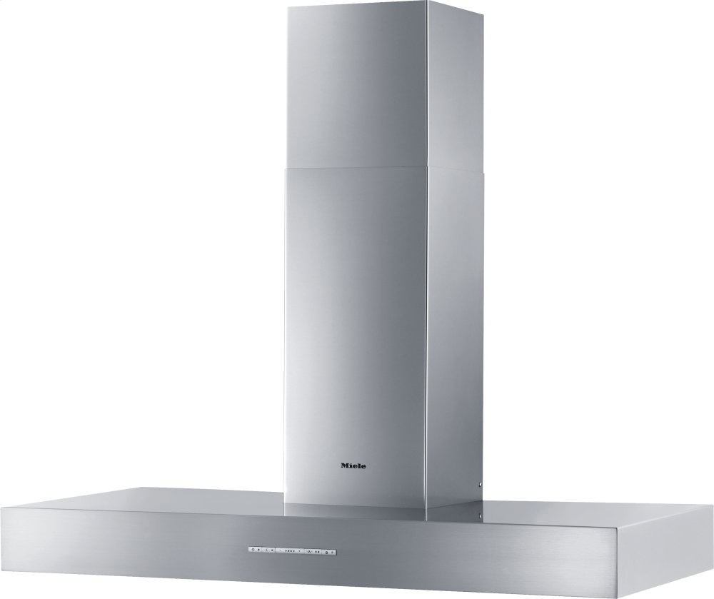 MieleDa 5428 W Puristic Arca - Wall Ventilation Hood With Energy-Efficient Led Lighting And Backlit Controls For Easy Use.