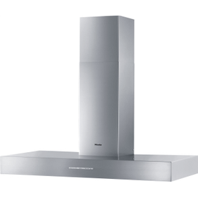 DA 5428 W Puristic Arca - Wall ventilation hood with energy-efficient LED lighting and backlit controls for easy use.