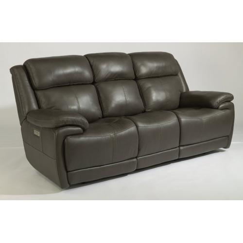 Elijah Leather Power Reclining with Power Headrests