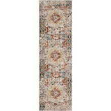 "Soiree Cristales Oyster 2' 4""x7' 10"" Runner"