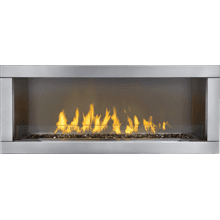 Galaxy Outdoor Gas Fireplace , Stainless Steel , Propane