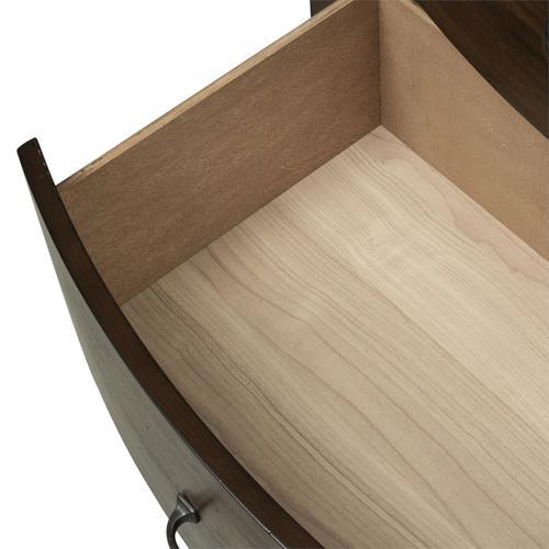 King Panel Storage Bed, Dresser & Mirror
