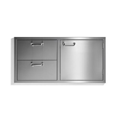 "42"" storage door & double drawer combo - Sedona by Lynx Series"