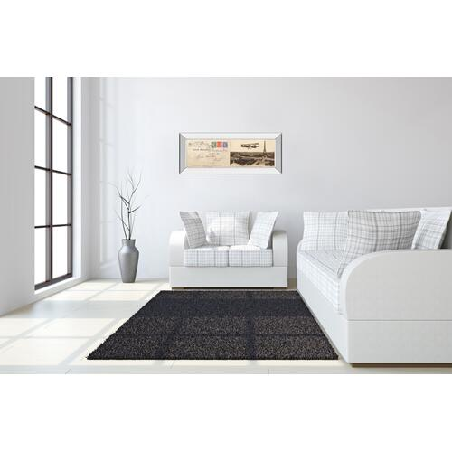 """Lettre De Paris I"" By Wild Apple Graphics Mirror Framed Print Wall Art"