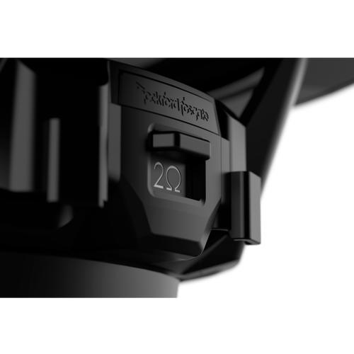 "Rockford Fosgate - M2 12"" DVC 4 Color Optix™ Infinite Baffle Marine Subwoofer - Black"