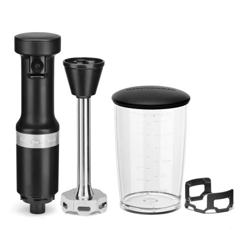 Variable Speed Corded Hand Blender - Black Matte