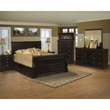 Bella Rose California King Sleigh Bed