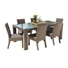 Samoa 7 PC Side Chair Dining Set