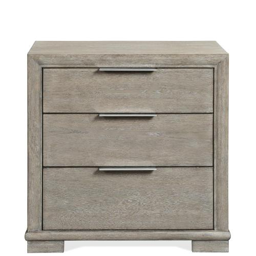 Remington - Three Drawer Nightstand - Urban Gray Finish