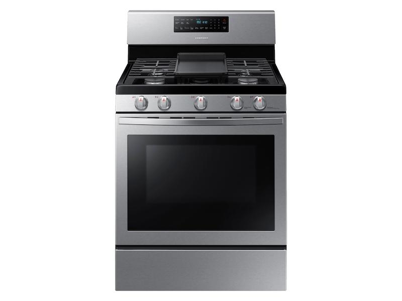 Samsung5.8 Cu. Ft. Freestanding Gas Range With Convection In Stainless Steel